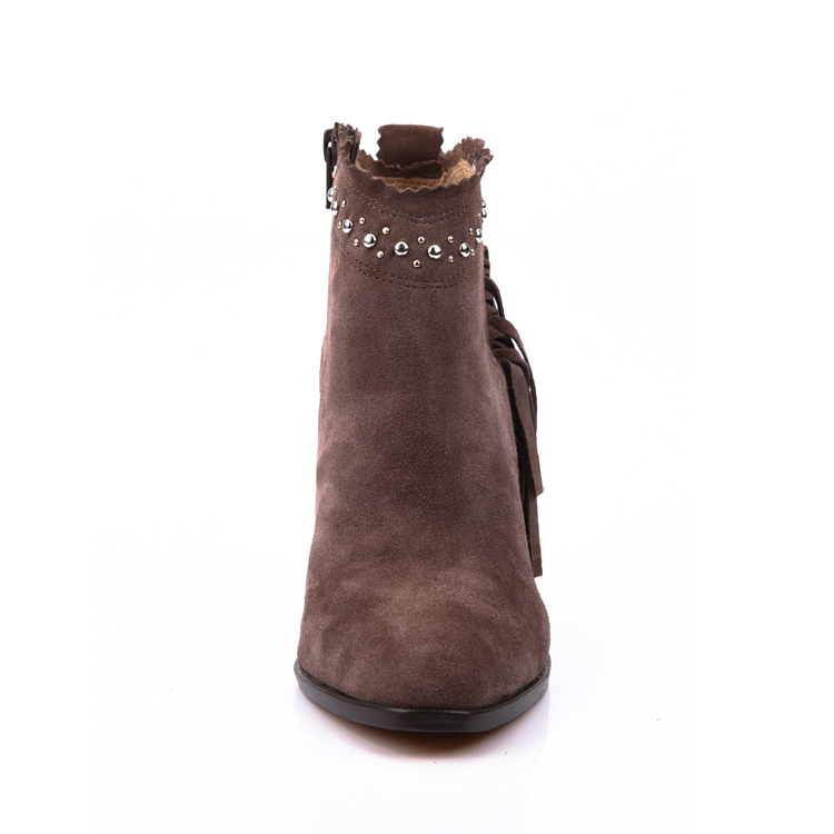 tassel ankle boot shoes for women footwear manufacturers in