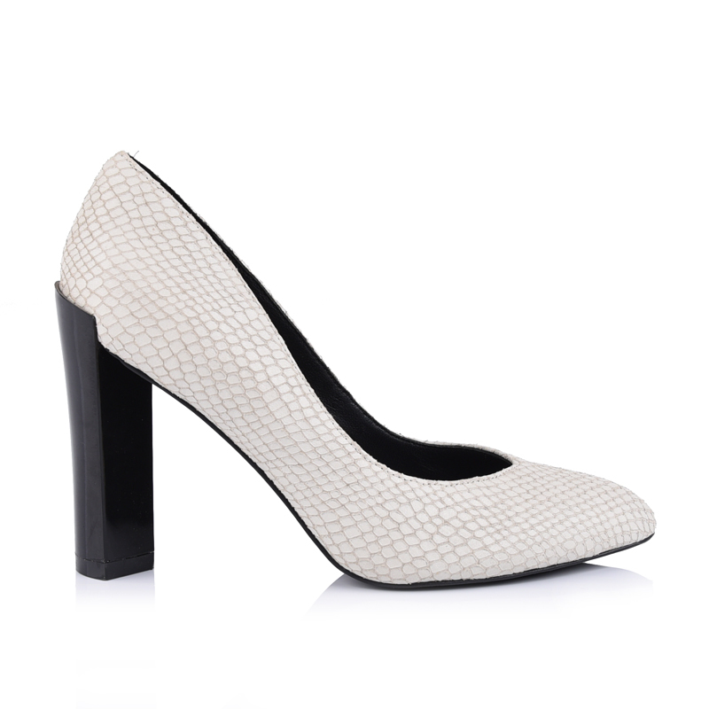 bb81759d9b pointed toe chunky heels ladies leather pumps shoes manufacturers in ...