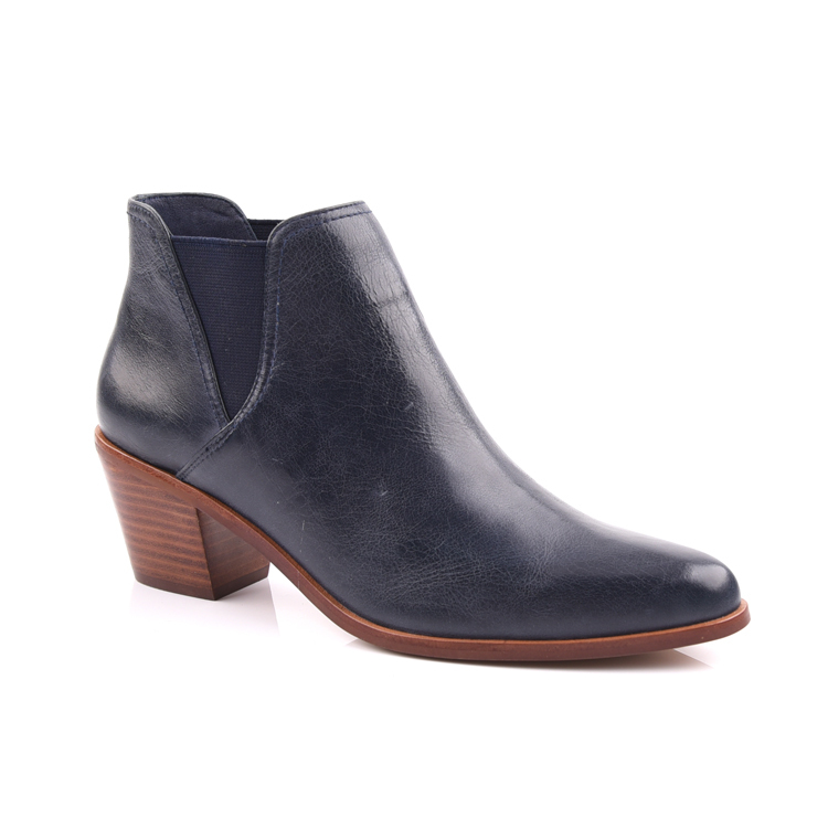 Ladies Ankle Boots/Women Leather Ankle Boots Shoes Manufactu