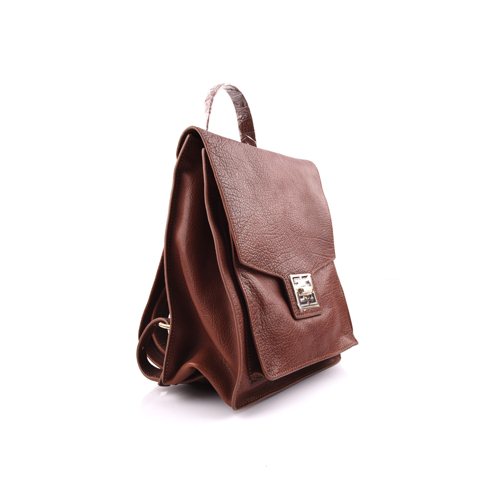 cow leather women classic backpack bag manufacture