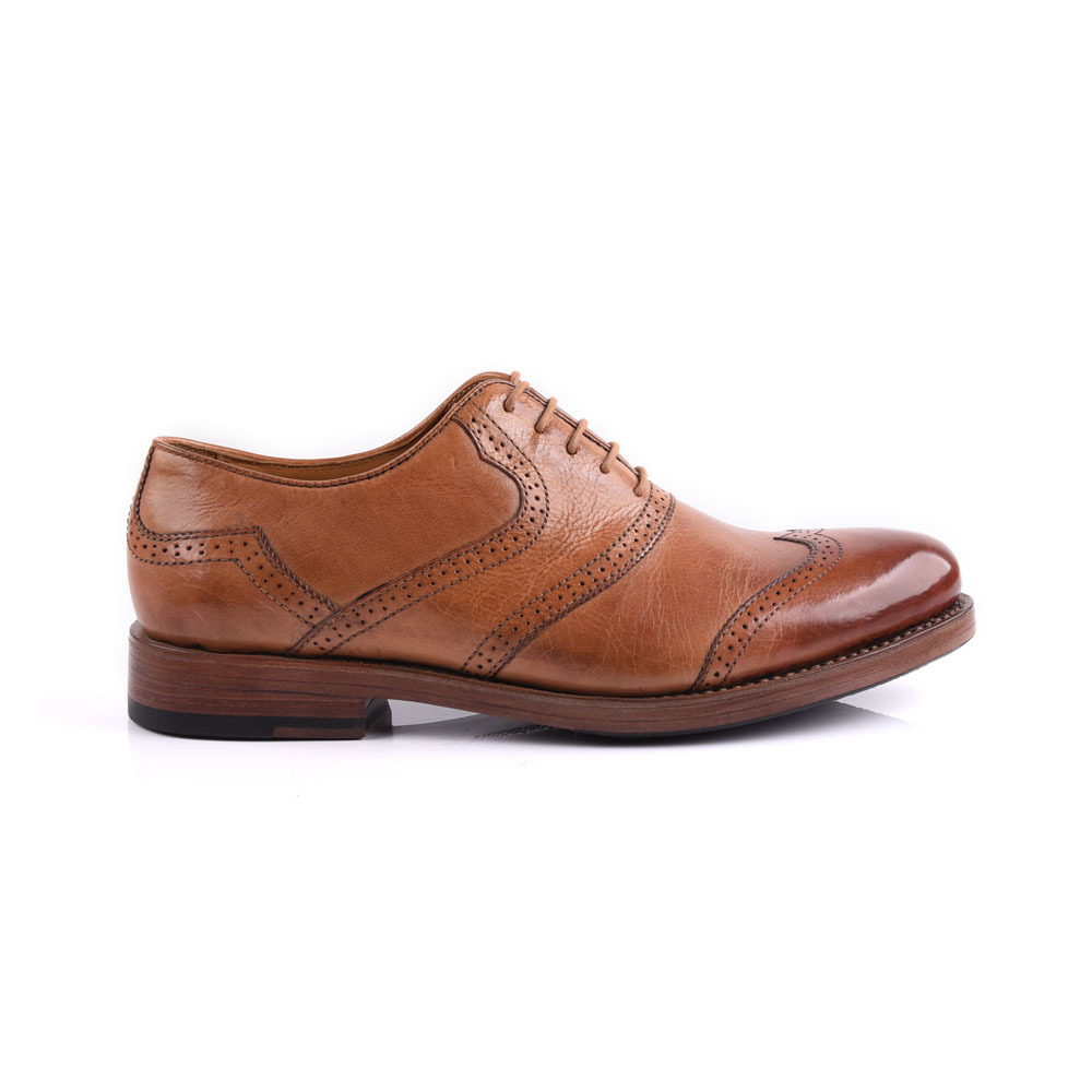 Goodyear men leather shoe manufacture