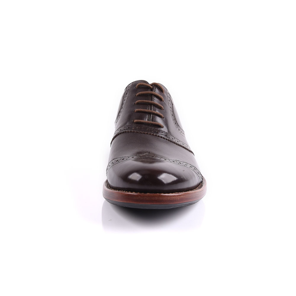 Goodyear hand work leather shoes for men manufacture