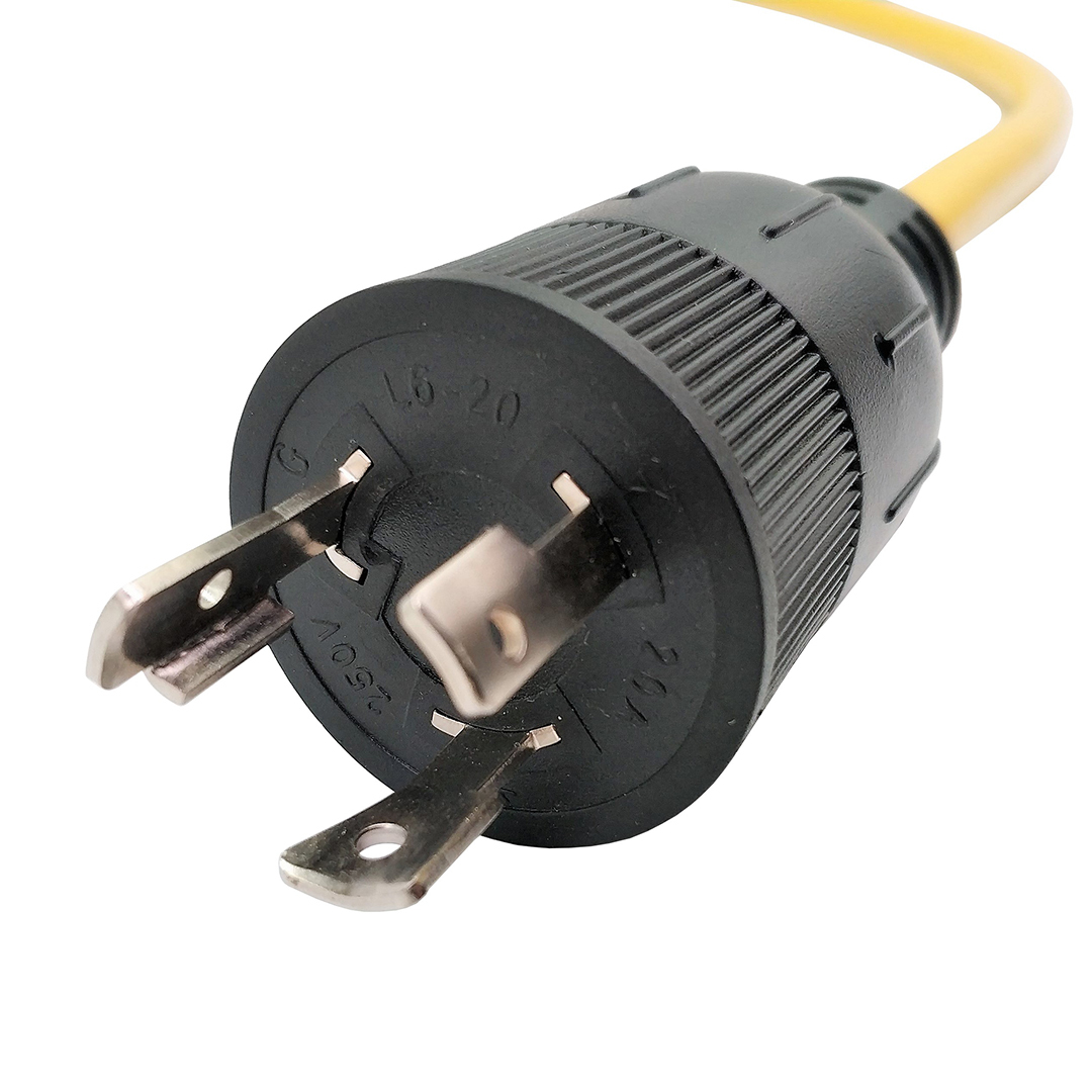 L6-20P to 5-20R T-Blade (Also for 5-15R) ONLY Output 250Volt