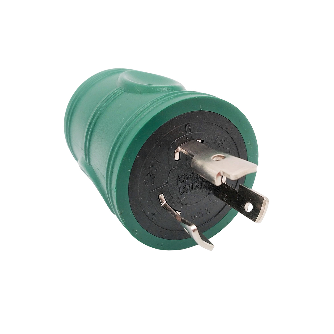 L6-20P to 6-20R (6-15R) Adapter