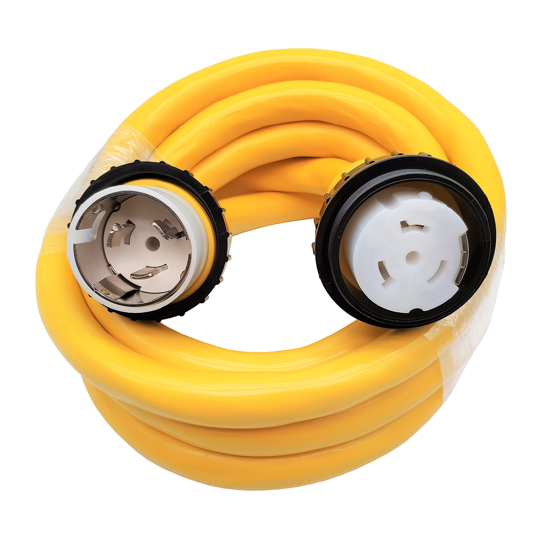 Marine 50A power cord 15'