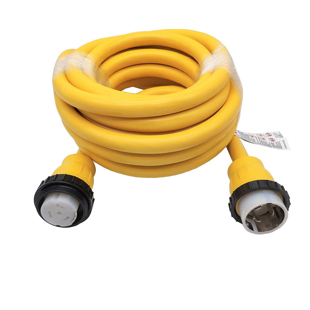 Marine Shore Power Extension Cord 50 AMP 36 Foot