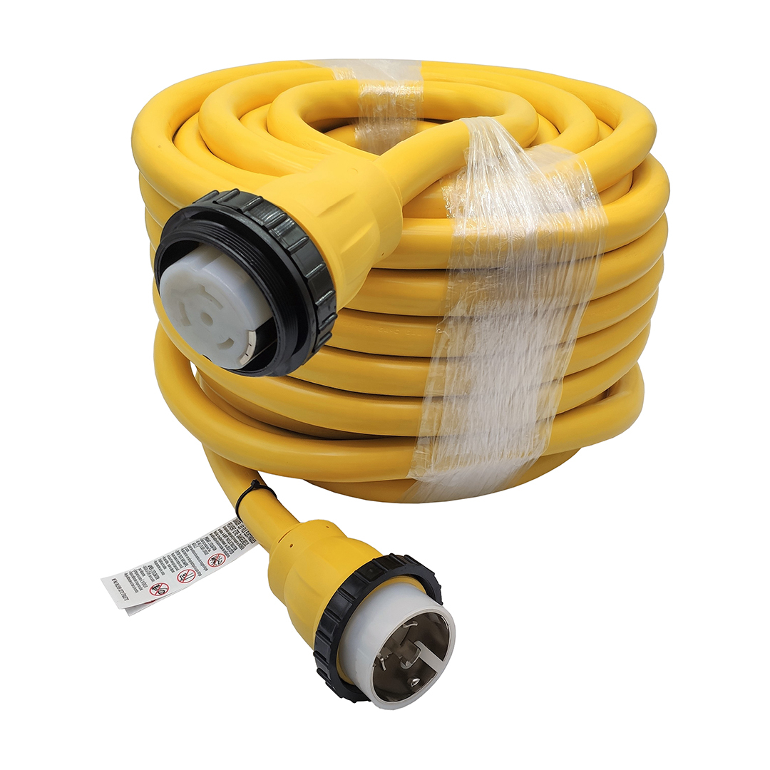 Marine Shore Power Extension Cord 50 AMP 75 Foot