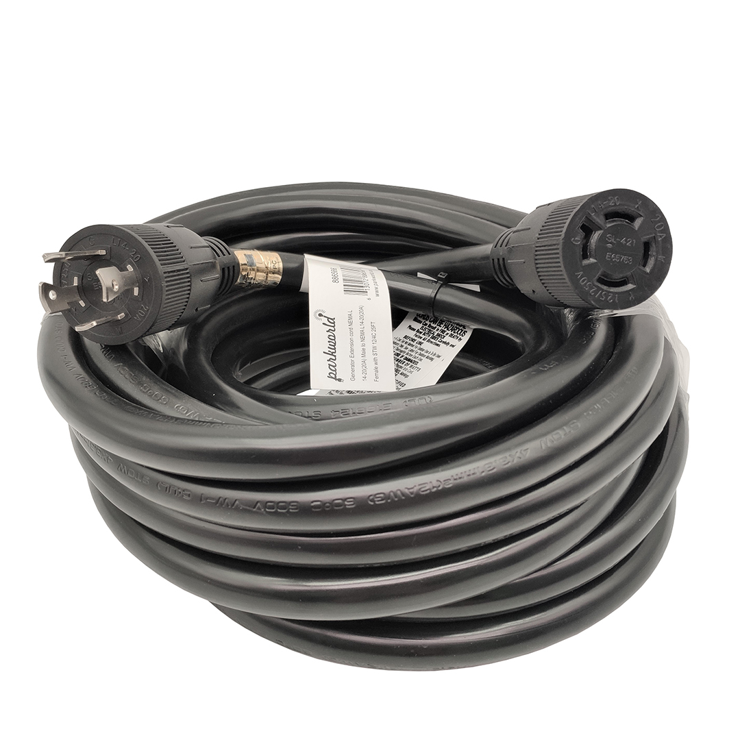 L14-20 Extension Cord (25FT)