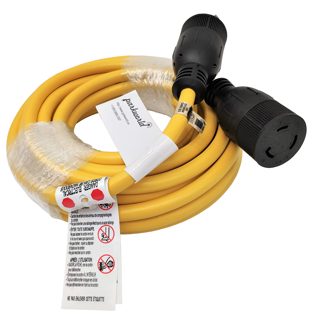 NEMA L5-20 Extension Cord (25FT)