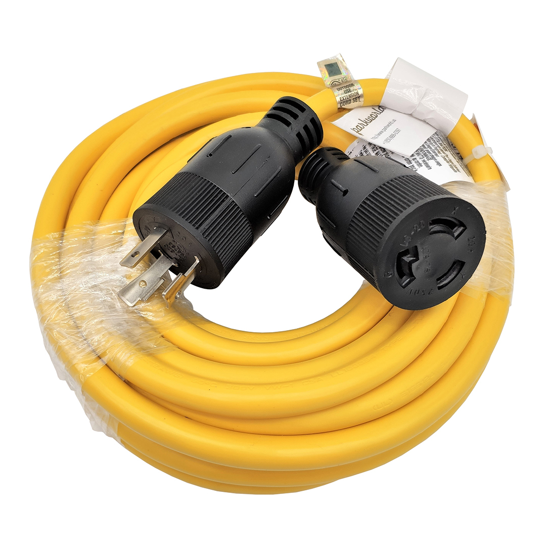 L6-20 Extension Cord 25 Foot