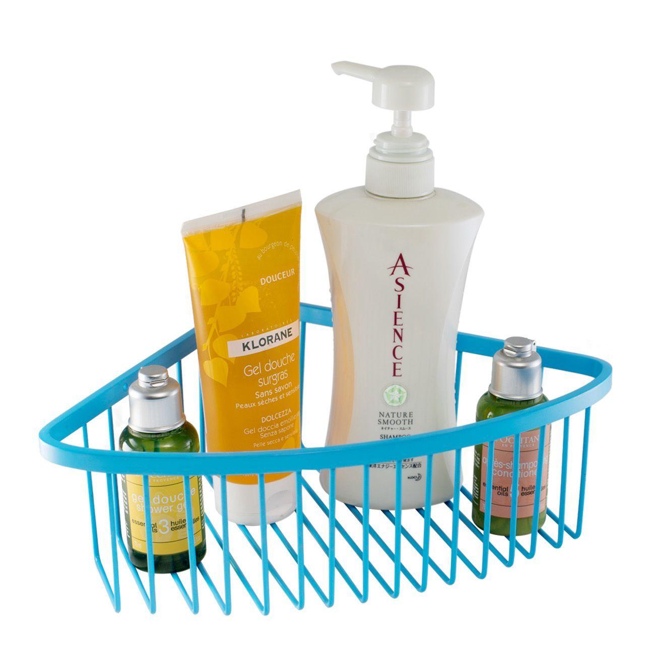 Corner Shower Caddy - Corner Basket for Shower no Drilling, Corner ...