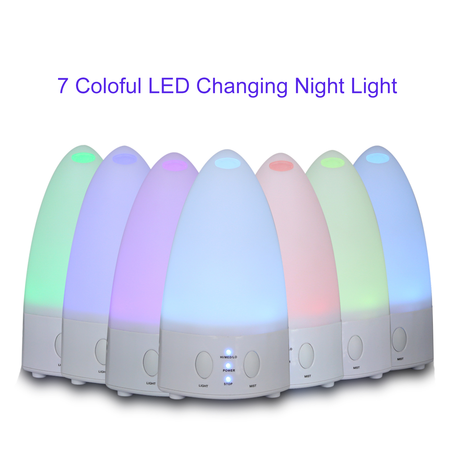 20099 Essential Oil Diffuser Mini Humidifier Colorful