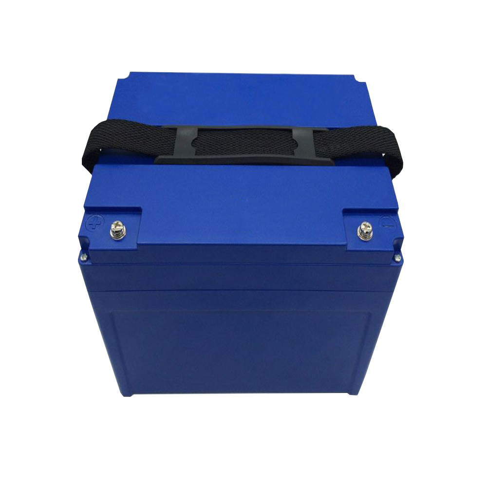 rechargeable 12.8V 75Ah LiFePO4 Battery pack for marine