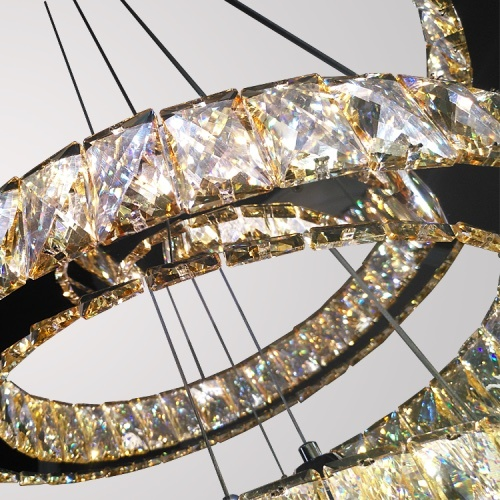 Led modern chandelier lamps