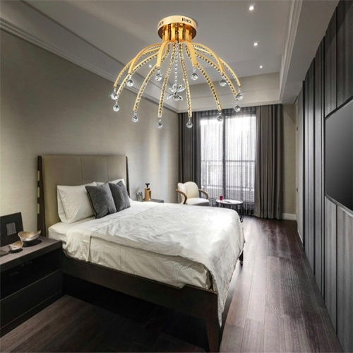 contemporary crystal chandelier