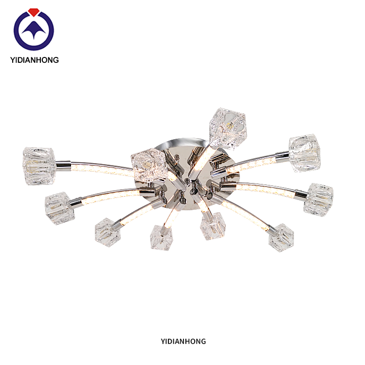 Branch modern crystal  ceiling lamp