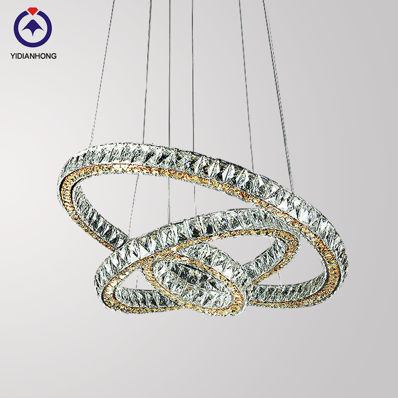 modern crystal pendant lighting