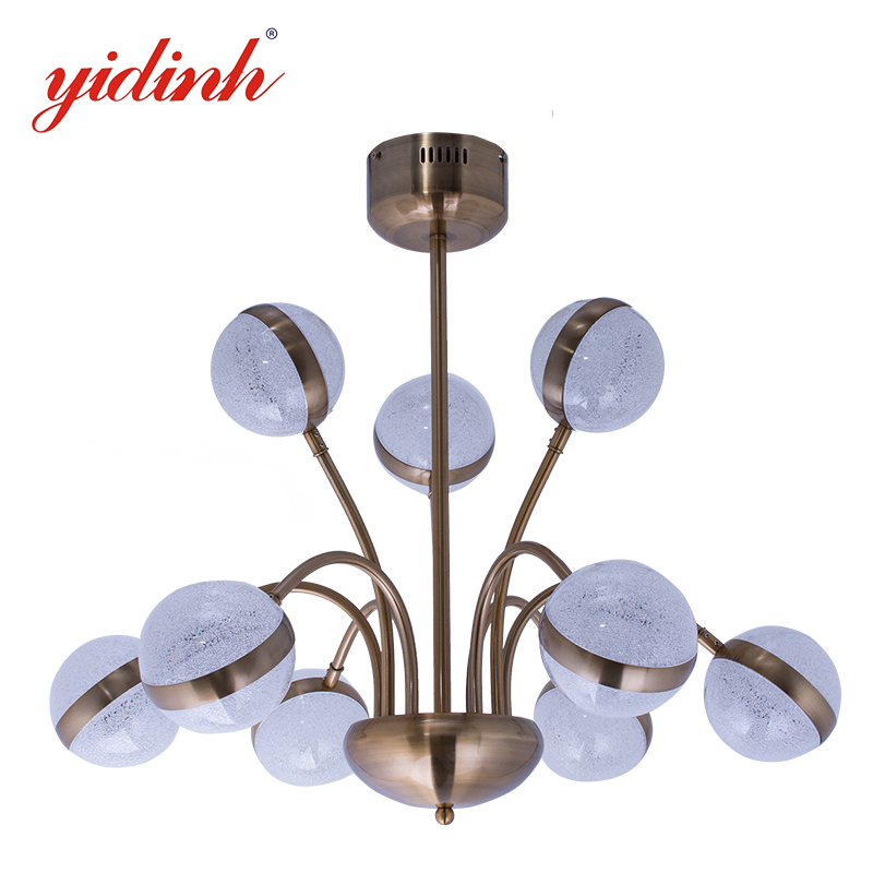 chandelier  copper colour  ball shape pendant light -MD3019-