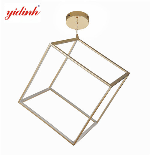 Square chandelier LED modern pendant factory MD3646