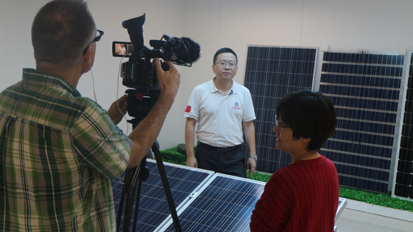 Jiuzhou Solar Energy Received CBC's Exclusive Interview