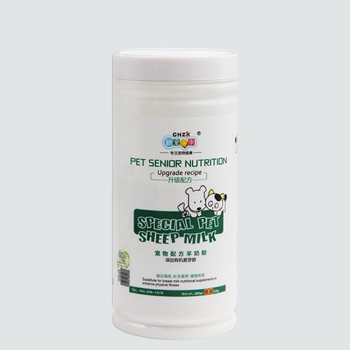 Sheep milk powder for pets