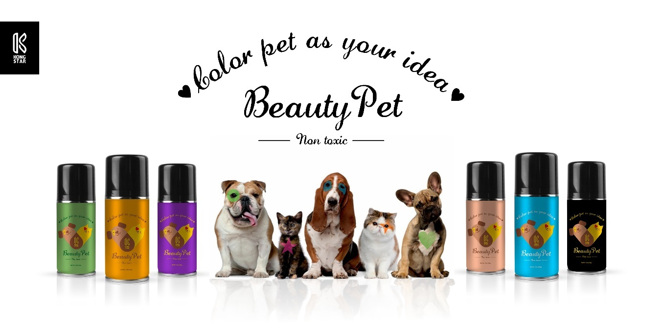 Best one time hair color spray for your pet!