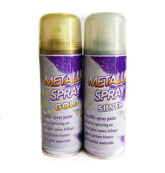 Metallic Gold/Silver Spray