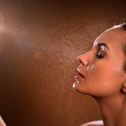 Spray humectante facial