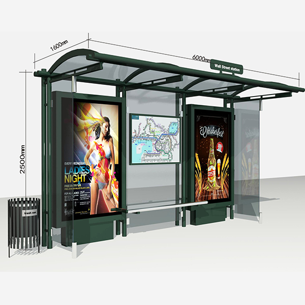 Bus Stop Shelter 004