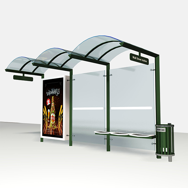 Bus Stop Shelter 007