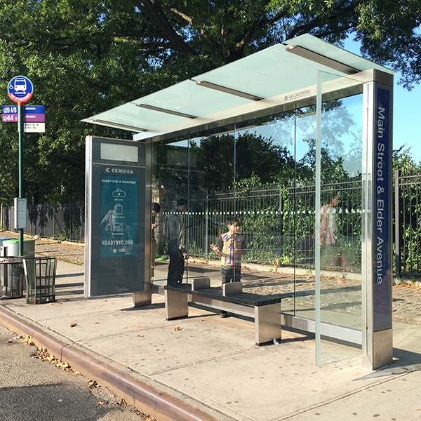 Bus Stop Shelter 009
