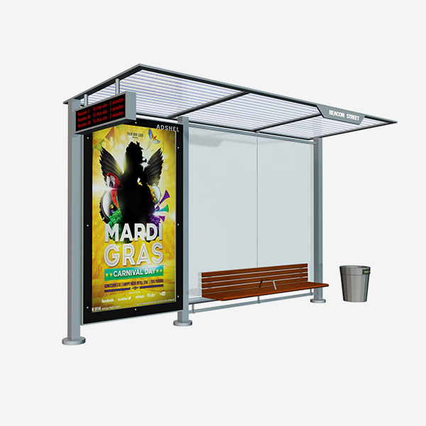 Bus Stop Shelter 019
