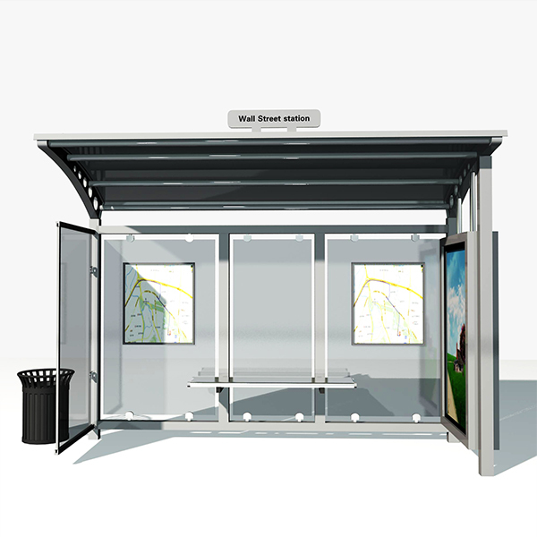 Bus Stop Shelter 001