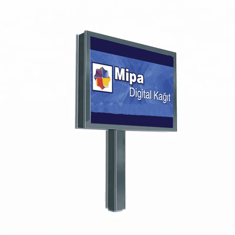 Outdoor scrolling advertising billboard system equipment F00