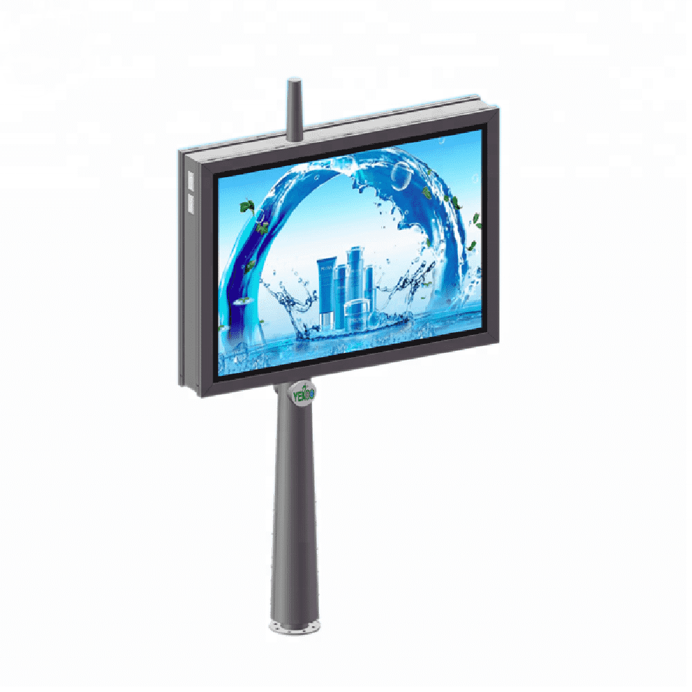 Double side scrolling advertising billboard light box billbo