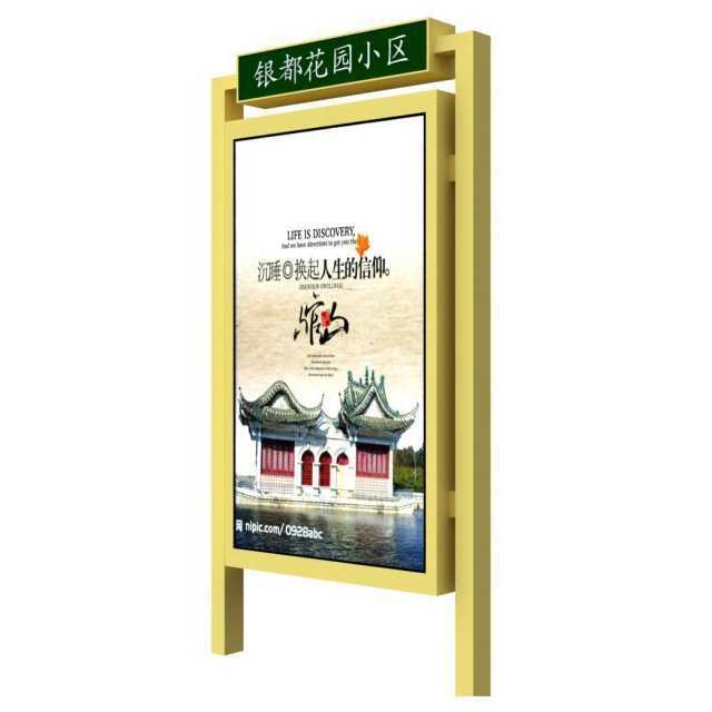Road signs display board standing led advertising light boxe