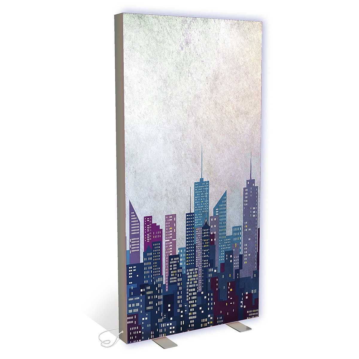 Floor free standing light box flat light box D003