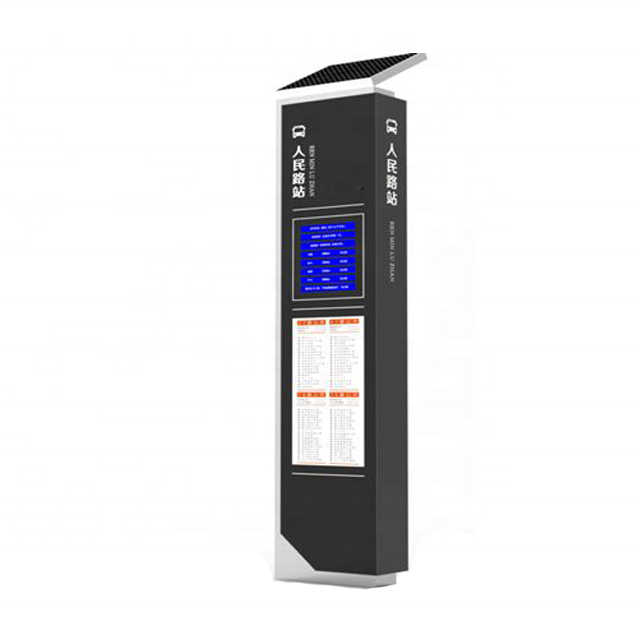 High-quality multifunctional electronic bus stop kiosk B009