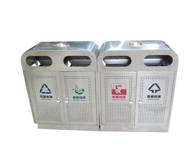 China top supplier indoor trash bin stainless steel trash bi