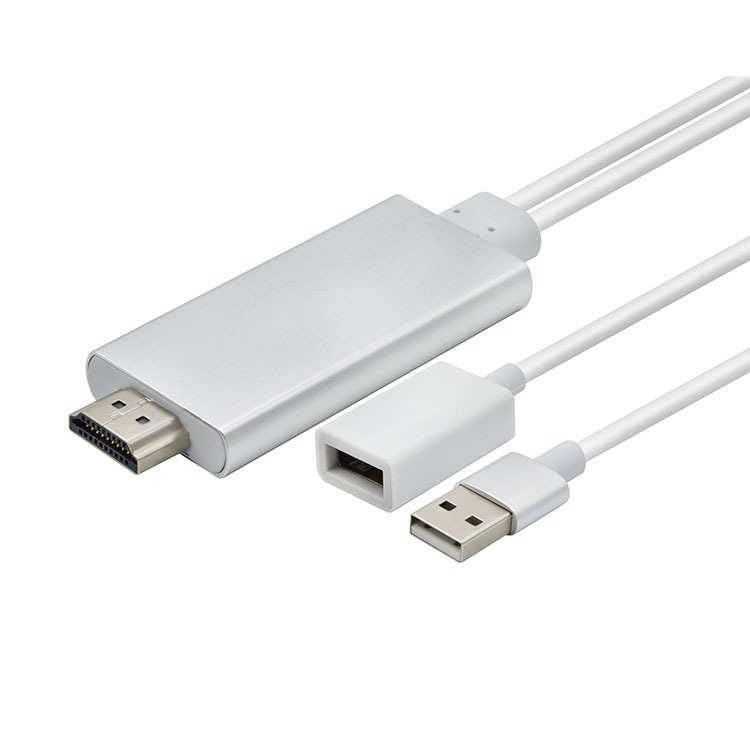 ipnone to HDMI adapter,USB F-M to HDMI,MHL Converter,apple