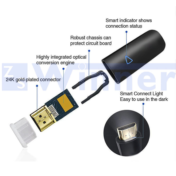 Hybrid HDMI Active Optical ,18 Gbp,active optical hdmi cable