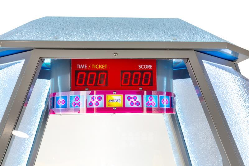 Tickets game machine & redemption game machine