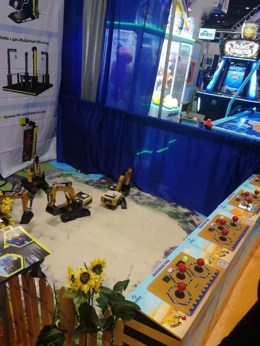 Thank you for visiting us at the IAAPA show !!!Here are some
