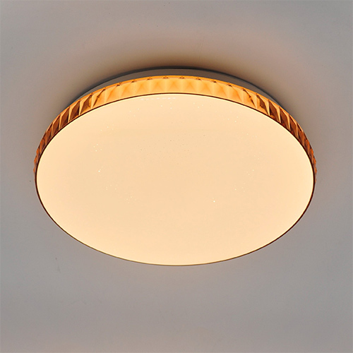 plafoniera decorativa rotonda a led