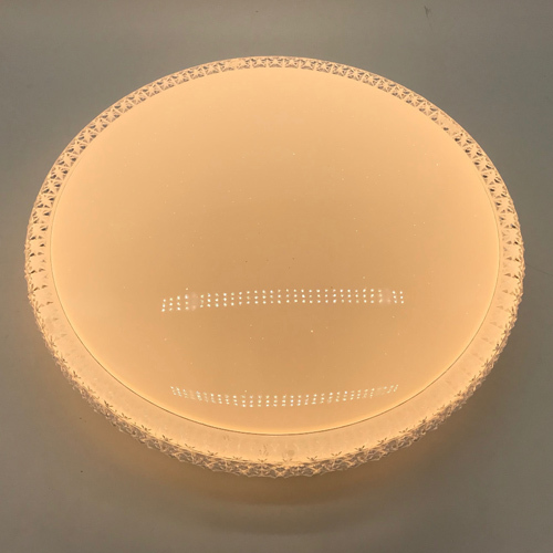 led ceiling light with plastic shinny side