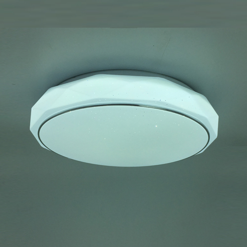 unique design ceiling light with silver edge