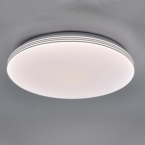 led ceiling light with 4 lines in side