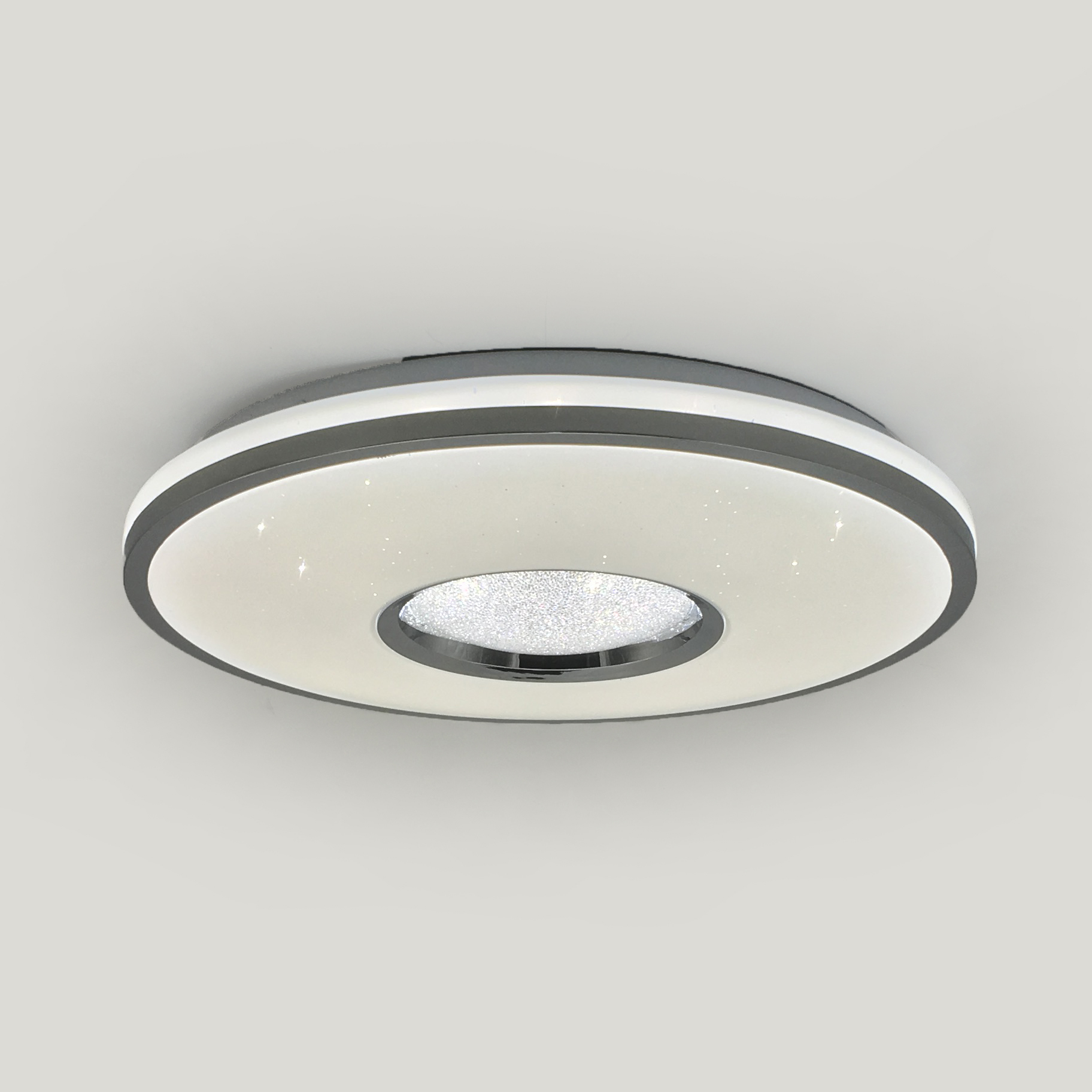 modern indoor led round shape plastic led acrylic ceiling li