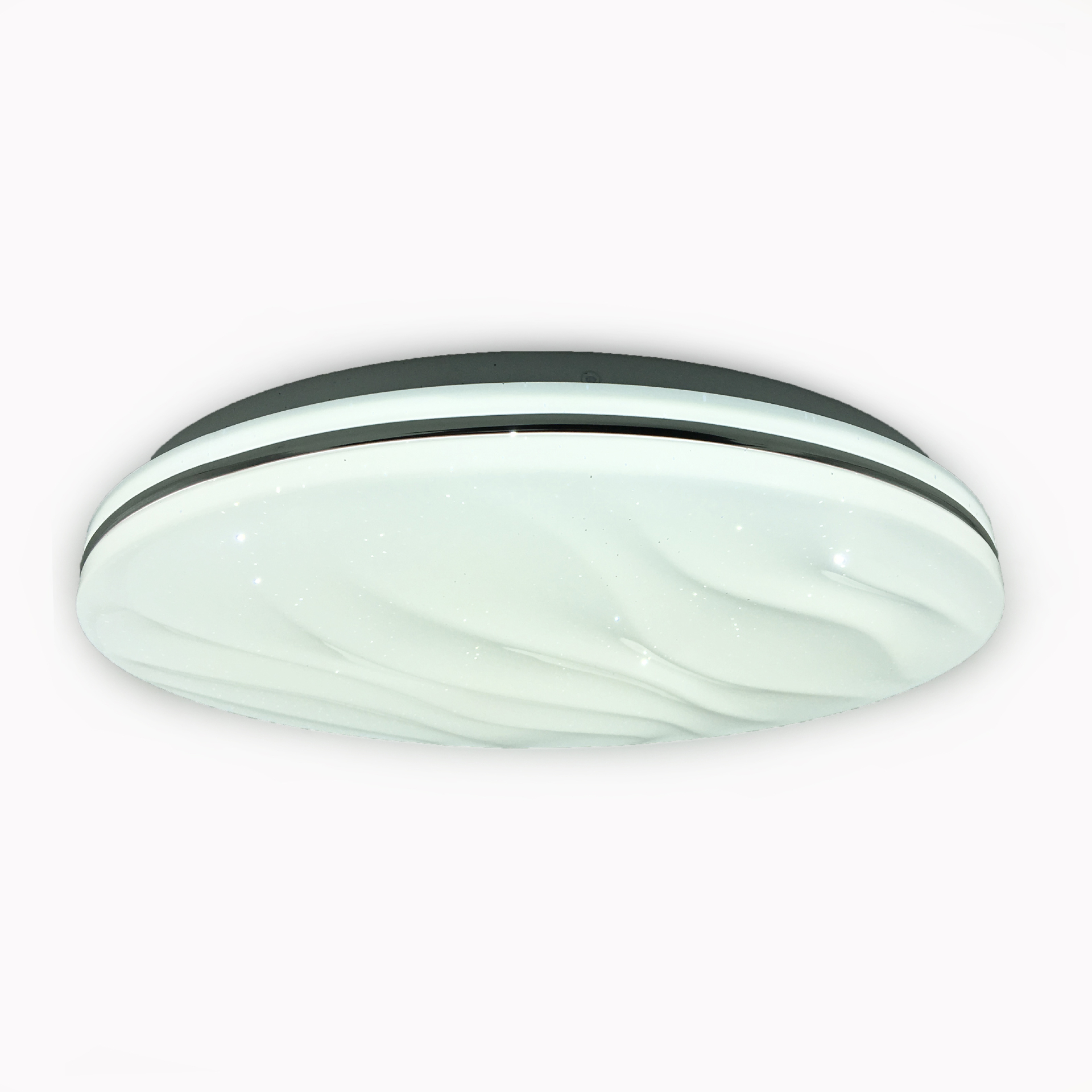 Plafón LED home depot blanco frío regulable con control remo
