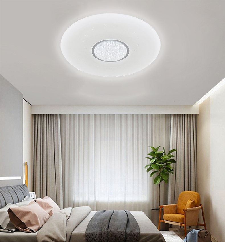 LED ceiling lamp shinny